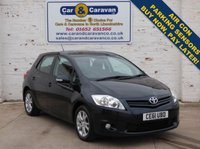 USED 2011 61 TOYOTA AURIS 1.6 TR VALVEMATIC 5d 132 BHP Full Service History Bluetooth 0% Deposit Finance Available