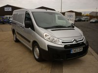 2014 CITROEN DISPATCH 2.0 1200 L2H1 ENTERPRISE HDI 125BHP air con blue tooth rear parking sensors  £6295.00