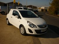 2014 VAUXHALL CORSA 1.2 CDTI S/S  75 BHP panel van Air con  £SOLD