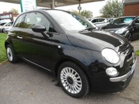 2013 FIAT 500 1.2 LOUNGE 3d 69 BHP 3 SERVICE STAMPS £4995.00