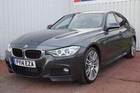 2014 BMW 3 SERIES 2.0 320D M SPORT 4d 181 BHP £14995.00