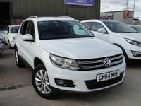 USED 2014 64 VOLKSWAGEN TIGUAN 2.0 MATCH TSI 4MOTION DSG 5d AUTO 178 BHP ANY PART EXCHANGE WELCOME, COUNTRY WIDE DELIVERY ARRANGED, HUGE SPEC
