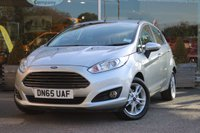2015 FORD FIESTA 1.0 ZETEC 5d 99 BHP £8611.00