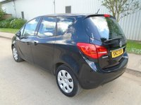 USED 2013 VAUXHALL MERIVA 1.7CDTI DIESEL AUTOMATIC EXCLUSIVE 40,000 MILES PART EXCHANGE AVAILABLE / ALL CARDS / FINANCE AVAILABLE