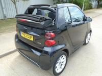 USED 2013 63 SMART FORTWO CABRIO 1.0 SOFTOUCH PASSION CONVERTIBLE AUTOMATIC SAT NAV PART EXCHANGE AVAILABLE / ALL CARDS / FINANCE AVAILABLE