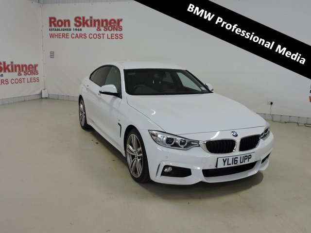 View our 2016 16 BMW 4 SERIES 2.0 420D M SPORT GRAN COUPE 4d AUTO 188 BHP with Professional Media
