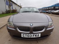 USED 2003 03 BMW Z4 3.0 ROADSTER CONVERTIBLE FULL LEATHER ELECTRIC SEATS CRUISE CONTROL PART EXCHANGE AVAILABLE / ALL CARDS / FINANCE AVAILABLE