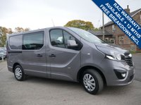 USED 2015 15 VAUXHALL VIVARO 1.6 2900 L1H1 CDTI CREW VAN DCB SPORTIVE 1d 114 BHP 6 SEATS COMBI VAN, 2 KEYS, FULL SERVICE HISTORY, EXCELLENT CONDITION BOTH INSIDE AND OUT