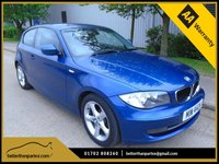 USED 2011 BMW 1 SERIES 2.0 DIESEL MANUAL 5 DOOR SPORT PARKING SENSORS PART EXCHANGE AVAILABLE / ALL CARDS / FINANCE AVAILABLE