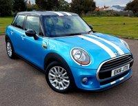 2016 MINI HATCH COOPER 1.5 COOPER 5d AUTO 134 BHP £14495.00