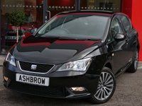 USED 2016 66 SEAT IBIZA 1.0 SE TECHNOLOGY 5d 75 BHP UPGRADE 16 INCH DESIGN ALLOY WHEELS, SAT NAV, FULL LINK FOR APPLE CARPLAY / ANDROID AUTO, DAB RADIO, BLUETOOTH PHONE & MUSIC STREAMING, AUX & USB INPUTS, MANUAL 5 SPEED GEARBOX, LED DAYTIME RUNNING LIGHTS, FRONT FOG LIGHTS, GREY CLOTH INTERIOR, LEATHER MULTIFUNCTION STEERING WHEEL, AIR CONDITIONING, CD HIFI WITH 2x SD CARD READERS, ELECTRIC WINDOWS, ELECTRIC DOOR MIRRORS, TYRE PRESSURE MONITORING SYSTEM  1 OWNER FROM NEW, FULL SERVICE HISTORY, BALANCE OF SEAT WARRANTY, £30 ROAD TAX