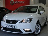 USED 2015 15 SEAT IBIZA 1.4 TOCA 3d 85 BHP SEAT PORTABLE SAT NAV, BLUETOOTH, MANUAL 5 SPEED GEARBOX, FRONT FOG LIGHTS, 16 INCH 10 SPOKE ALLOY WHEELS, GREY CLOTH INTERIOR, AIR CONDITIONING, ELECTRIC WINDOWS, ELECTRIC DOOR MIRRORS, DIS TRIP COMPUTER, ISO FIX CHILD SEAT MOUNTS, AUX INPUT, CD HIFI, LEATHER STEERING WHEEL, STEERING COLUMN REMOTE CONTROLS, NON SMOKING PACK, VANITY MIRRORS, AIRBAGS WITH PASSENGER OFF FUNCTION, REMOTE CENTRAL LOCKING, TYRE PRESSURE MONITORING SYSTEM, FULL SERVICE HISTORY, VAT QUALIFYING, HPI CLEAR