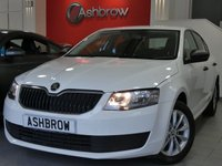 USED 2015 15 SKODA OCTAVIA 1.6 TDI CR S 5d 105 S/S 1 OWNER FROM NEW, FULL SKODA SERVICE HISTORY, £0 ROAD TAX (99 G/KM), 16 INCH 10 SPOKE ALLOYS, REAR MUD FLAPS, GREY CLOTH INTERIOR, LEATHER STEERING WHEEL, TRIP COMPUTER, AIR CONDITIONING, AUX & USB INPUTS, DAB RADIO, BLUETOOTH PHONE & MUSIC STREAMING, CD HIFI WITH SD CARD READER, TYRE PRESSURE MONITORING SYSTEM, ELECTRIC WINDOWS, ELECTRIC HEATED DOOR MIRRORS, ISO FIX, FOLDING REAR SEATS. VAT QUALIFYING
