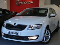 USED 2015 15 SKODA OCTAVIA 2.0 TDI CR ELEGANCE 5d 150 S/S UPGRADE PARK ASSIST WITH AUTOMATIC STEERING, UPGRADE ADAPTIVE CRUISE CONTROL, SAT NAV, LEATHER ALCANTARA UPHOLSTERY, DAB RADIO, BLUETOOTH PHONE & AUDIO STREAMING, FRONT & REAR PARKING SENSORS WITH DISPLAY (PARK PILOT), FRONT ASSIST, AUX + USB INPUTS, 17 INCH 10 SPOKE ALLOYS, FRONT FOGS, HEADLAMP WASHERS, REAR MUD FLAPS, DRIVING MODE SELECTION, VOICE COMMAND, LEATHER MULTI FUNCTION STEERING WHEEL, DUAL ZONE CLIMATE A/C, SPORT SEATS, POWER FOLDING MIRRORS, 1 OWNER, FULL SERVICE HISTORY, £20 RFL