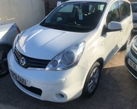 2011 NISSAN NOTE 1.4 ACENTA 5d 88 BHP £4800.00
