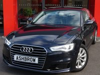 USED 2016 16 AUDI A6 SALOON 2.0 TDI ULTRA SE 5d 190 S/S UPGRADE HEATED FRONT SEATS, UPGRADE ELECTRIC FOLDING HEATED DOOR MIRRORS, UPGRADE 4 WAY LUMBAR SUPPORT, SAT NAV, LED DAYTIME RUNNING LIGHTS, BI-XENON HEADLIGHTS, DAB RADIO, BLUETOOTH PHONE & MUSIC STREAMING, FRONT & REAR PARKING SENSORS WITH DISPLAY, 17 INCH 10 SPOKE ALLOYS, FULL LEATHER INTERIOR, TWIN EXHAUST, LEATHER MULTIFUNCTION STEERING WHEEL, LIGHT & RAIN SENSORS WITH AUTO DIMMING REAR VIEW MIRROR, CRUISE CONTROL, AUTO HILL HOLD, 4 ZONE CLIMATE AIR CON, 1 OWNER FROM NEW, £30 ROAD TAX