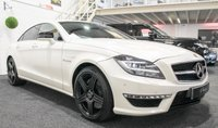 USED 2012 12 MERCEDES-BENZ CLS CLASS 5.5 CLS63 AMG 4d AUTO 525 BHP **DESIGNO MANGO MATT WHITE**