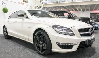 2012 MERCEDES-BENZ CLS CLASS 5.5 CLS63 AMG 4d AUTO 525 BHP £SOLD
