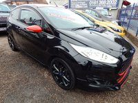 USED 2016 16 FORD FIESTA 1.0 ZETEC S BLACK EDITION 3d 139 BHP IDEAL 1ST CAR, LOW INSURANCE, STUNNING EXAMPLE,F.S.H
