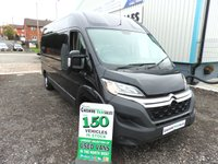 2016 CITROEN RELAY 2.2 35 L3H2 ENTERPRISE 129 BHP 1 OWNER FROM NEW AIR CON & CRUISE £10995.00