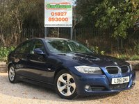 USED 2011 61 BMW 3 SERIES 2.0 320D EFFICIENTDYNAMICS 4d 161 BHP Sat Nav, Park Sensors, £20 Tax