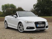 USED 2014 64 AUDI A3 1.4 TFSI S LINE 2d 148 BHP The perfect car all year round!