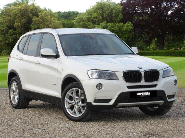 2012 62 BMW X3 2.0 XDRIVE20D SE 5d AUTO 181 BHP