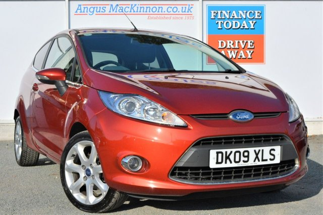 2009 09 FORD FIESTA 1.4 TITANIUM Great Value for Money Petrol 3d Hatchback