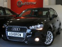 USED 2014 64 AUDI A1 1.6 TDI SPORT 3d 105 S/S £0 TAX, FULL AUDI SERVICE HISTORY, UPGRADE COMFORT PACK (INC CRUISE CONTROL, AUTO LIGHTS + WIPERS + WINDSCREEN SUNBAND), UPGRADE ACOUSTIC REAR PARKING SENSORS, DAB DIGITAL RADIO, BLUETOOTH W/ AUDIO STREAMING, TYRE PRESSURE MONITORING SYSTEM, SDS VOICE COMMAND, FRONT FOGS, SD CARD READER, CD DRIVE, ELECTRICALLY ADJUSTABLE HEATED DOOR MIRRORS, A/C, DIS W/ DIGITAL SPEED DISPLAY, VOICE COMMAND, AUX IN FOR IPOD / MP3, VAT Q