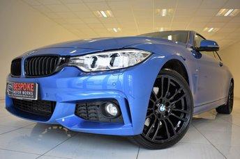 2016 BMW 4 SERIES 430D XDRIVE M SPORT AUTOMATIC