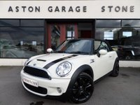 USED 2009 09 MINI CONVERTIBLE 1.6 COOPER S 2d 175 BHP *CHILI * HEATED SEATS** ** HEATED SEATS * CRUISE * BLUETOOTH **