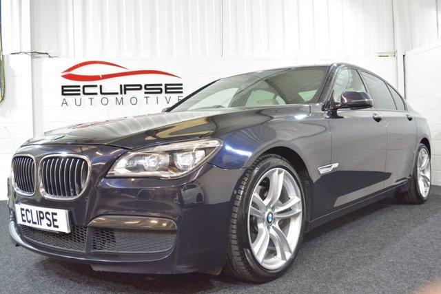 2012 62 BMW 7 SERIES 3.0 730D M SPORT 4d AUTO 255 BHP