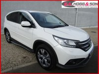 2014 HONDA CR-V 1.6 I-DTEC SR 5dr 120 BHP *GREAT SPECIFICATION* £SOLD