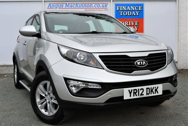 2012 12 KIA SPORTAGE 1.7 CRDI 1 Great Value for Money 5dr Family SUV