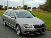 USED 2014 14 SKODA SUPERB 2.0 ELEGANCE TDI CR DSG 5d AUTO 168 BHP 4X4, SAT NAV, LEATHER, DAB RADIO