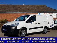 2015 CITROEN BERLINGO 625 ENTERPRISE WITH AIR-CON / DAB / CRUISE CONTROL £5995.00