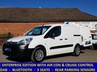 2015 CITROEN BERLINGO 625 ENTERPRISE WITH AIR-CON / DAB / CRUISE CONTROL £6195.00