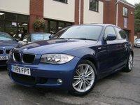 USED 2009 59 BMW 1 SERIES 2.0 118D M SPORT 5d 141 BHP