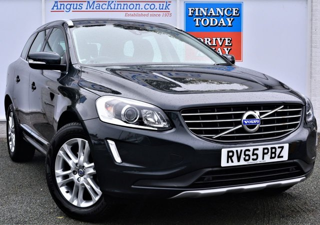 2015 65 VOLVO XC60 2.0 D4 SE LUX NAV AUTO 5dr Family SUV with Great High Spec