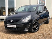 USED 2013 13 VAUXHALL CORSA 1.4 BLACK EDITION 5d 118 BHP IDEAL FIRST CAR