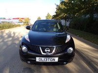 USED 2014 13 NISSAN JUKE 1.6 TEKNA PETROL REVERSE CAMERA SAT NAV LEATHER 25,000 PART EXCHANGE AVAILABLE / ALL CARDS / FINANCE AVAILABLE