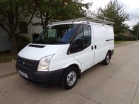 USED 2012 12 FORD TRANSIT 2.2TDCI 100PS EURO 5 SWB ONLY 68,000 MILES 1 OWNER PART EXCHANGE AVAILABLE / ALL CARDS / FINANCE AVAILABLE