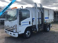 2010 ISUZU TRUCKS FORWARD 5.2 N75.190 S AUTO 190 BHP RECYCLING REFUSE TIPPING TRUCK WITH BIN LIFT £9995.00