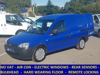 2007 VAUXHALL COMBO EX BRITISH GAS WITH AIR CON & ELECTRIC PACK. NO VAT TO PAY £2995.00