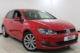 USED 2014 64 VOLKSWAGEN GOLF 2.0 GT TDI BLUEMOTION TECHNOLOGY DSG 5DR AUTOMATIC 148 BHP 1 Owner Full Service History FULL SERVICE HISTORY + BLUETOOTH + PARKING SENSOR + CRUISE CONTROL + CLIMATE CONTROL + MULTI FUNCTION WHEEL + 17 INCH ALLOY WHEELS