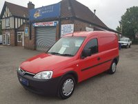 2005 VAUXHALL COMBO 1.3 CDTI NO VAT TO PAY WITH NEW MOT AND SERVICED £1495.00