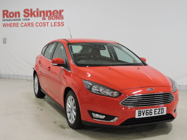 View our 2016 66 FORD FOCUS 1.5 TITANIUM TDCI 5d 118 BHP
