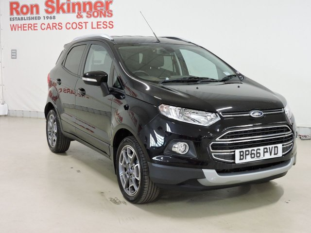 View our 2016 66 FORD ECOSPORT (18) 1.5 TITANIUM TDCI 5d 94 BHP