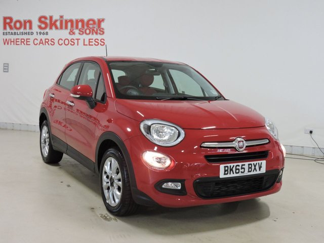 View our 2015 65 FIAT 500X 1.6 MULTIJET POP STAR 5d 120 BHP