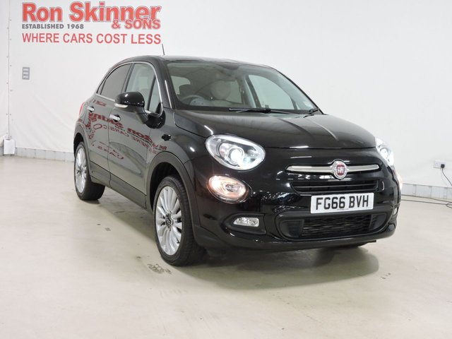 View our 2016 66 FIAT 500X 1.4 MULTIAIR LOUNGE 5d 140 BHP